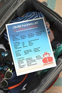 Download this free printable --> cruising packing list for babies and toddlers! Everything you need to pack for your next vacation with your little one!