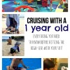 Cruising with a 1 year old - everything you need to know before hitting the high-seas with your tot!