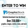 Enter to Win 1-Year Complimentary Access to GraphicStock.com