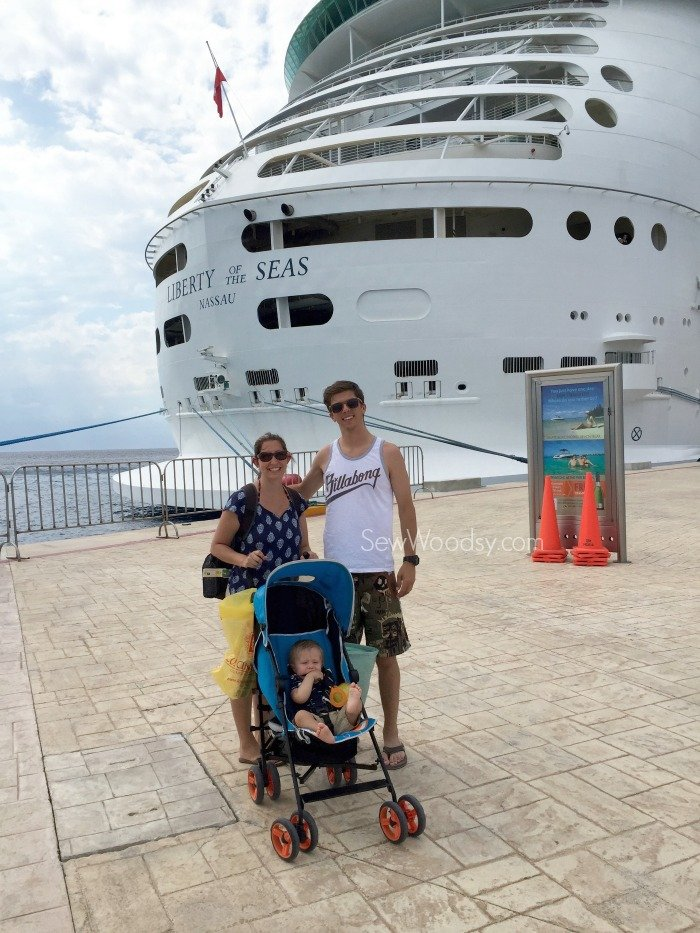 Liberty of the Seas in Mexico with Family