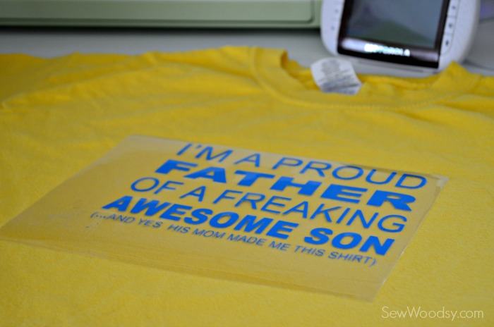 DIY I'm A Proud Father T-Shirt 1