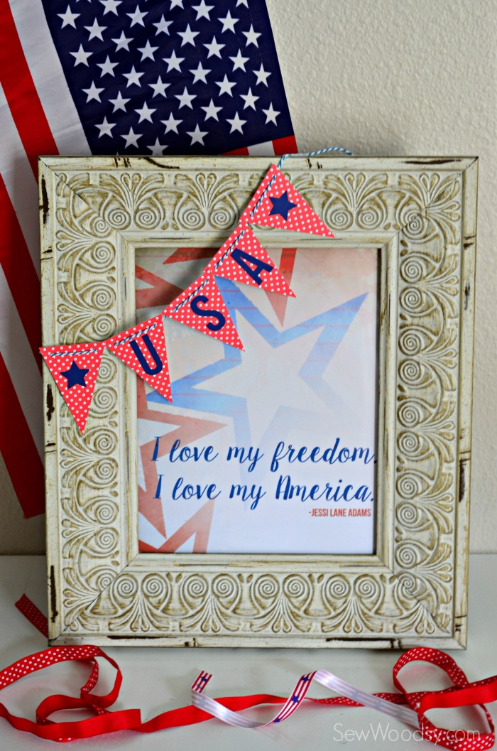 I love my Freedom. I love my America Free Printable! Download it now!