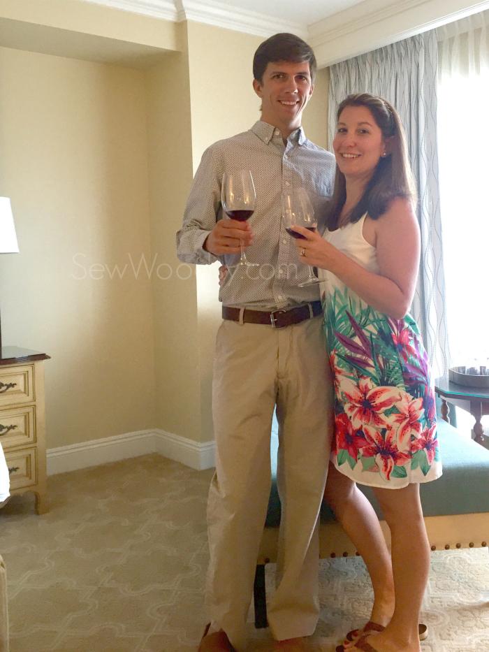 Evening out at Ritz-Carlton Orlando