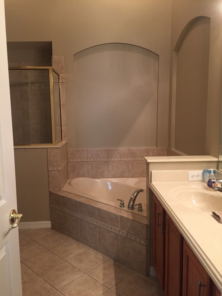 new home master bathroom part 2