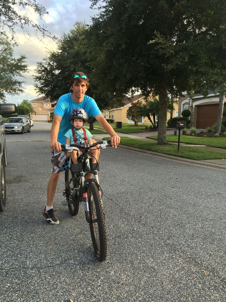 first family bike ride