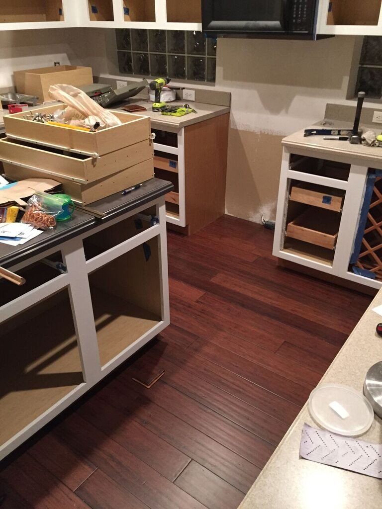 kitchen floors complete
