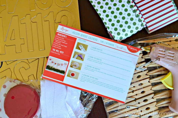DIY Holiday Advent Calendar Kit
