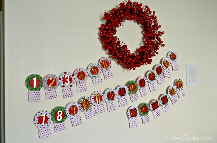 DIY Holiday Advent Calendar