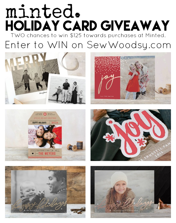 @Minted Holiday Card Giveaway