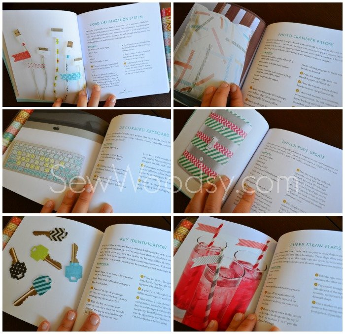 Washi Tape Super Straw Flags + Washi Tape Crafts Book Review