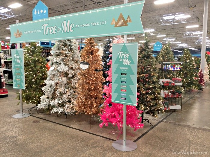 at home tree lot tree for mee athomeforchristmas athomefinds ad - At Home Store Christmas Decorations