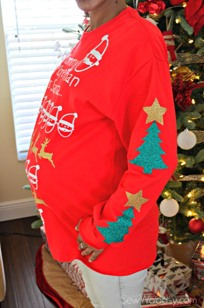 maternity pretty ugly christmas sweater - Maternity Ugly Christmas Sweater