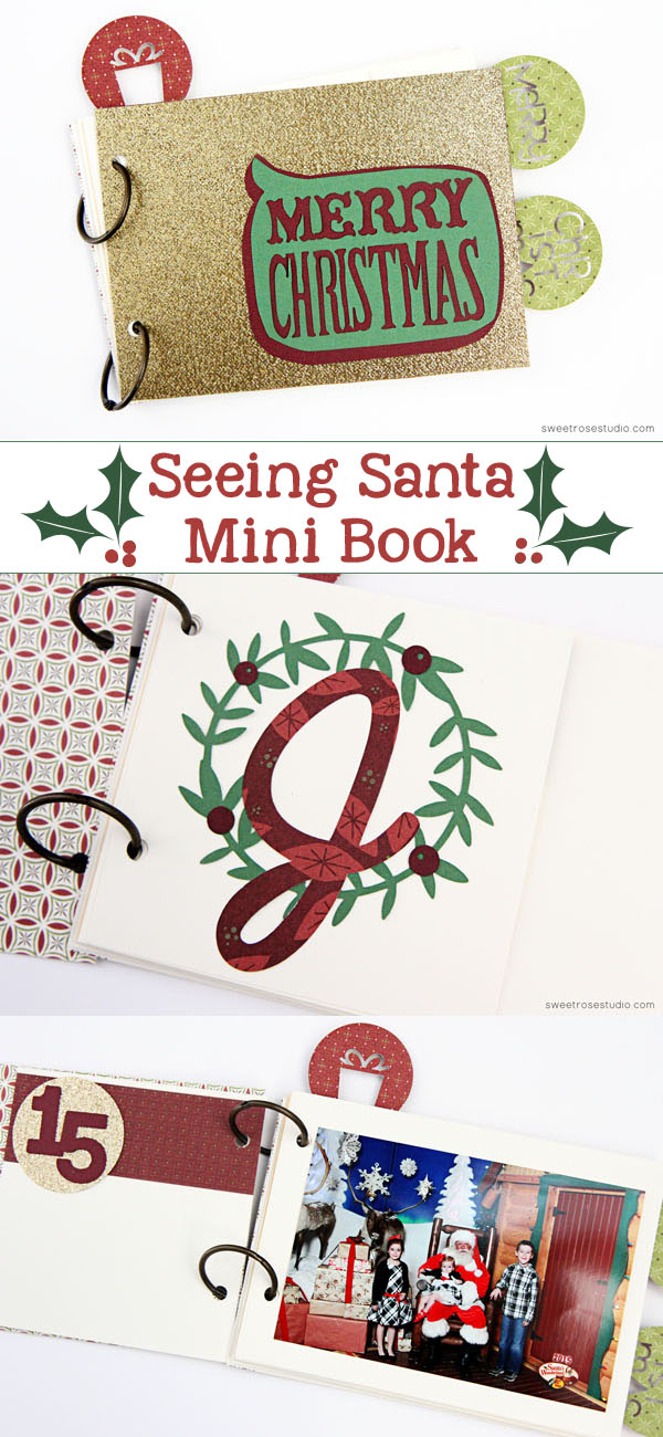 Seeing Santa Mini Book