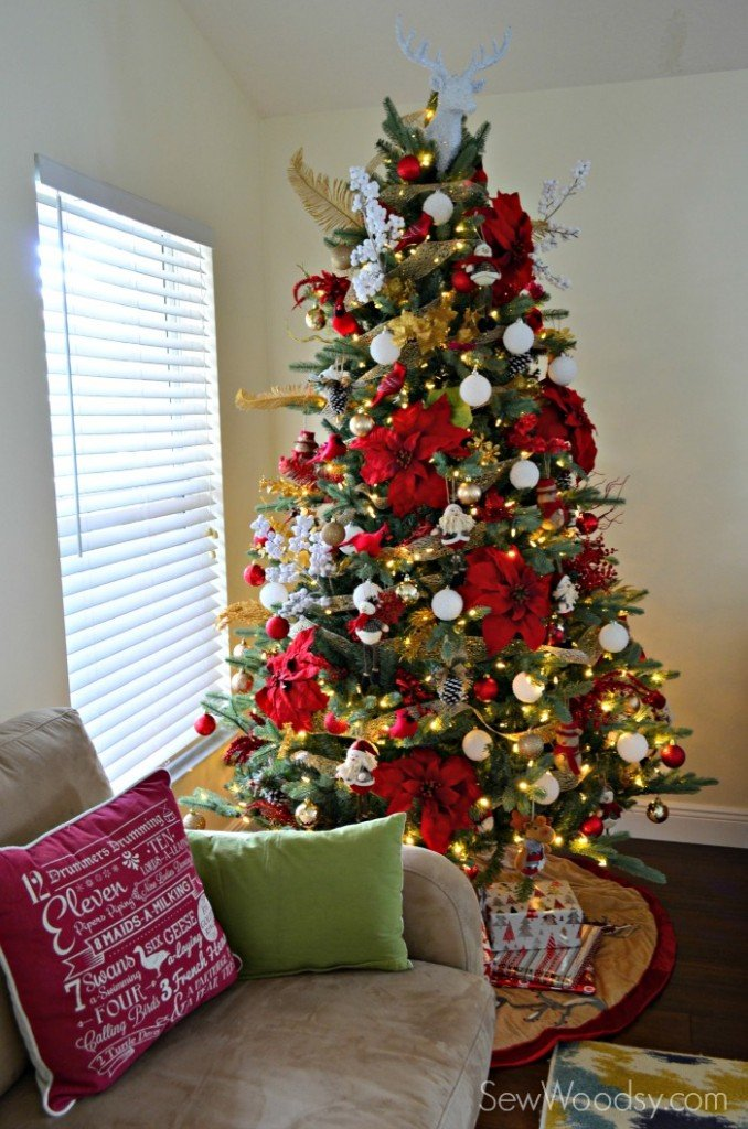 toddler friendly christmas tree sew woodsy