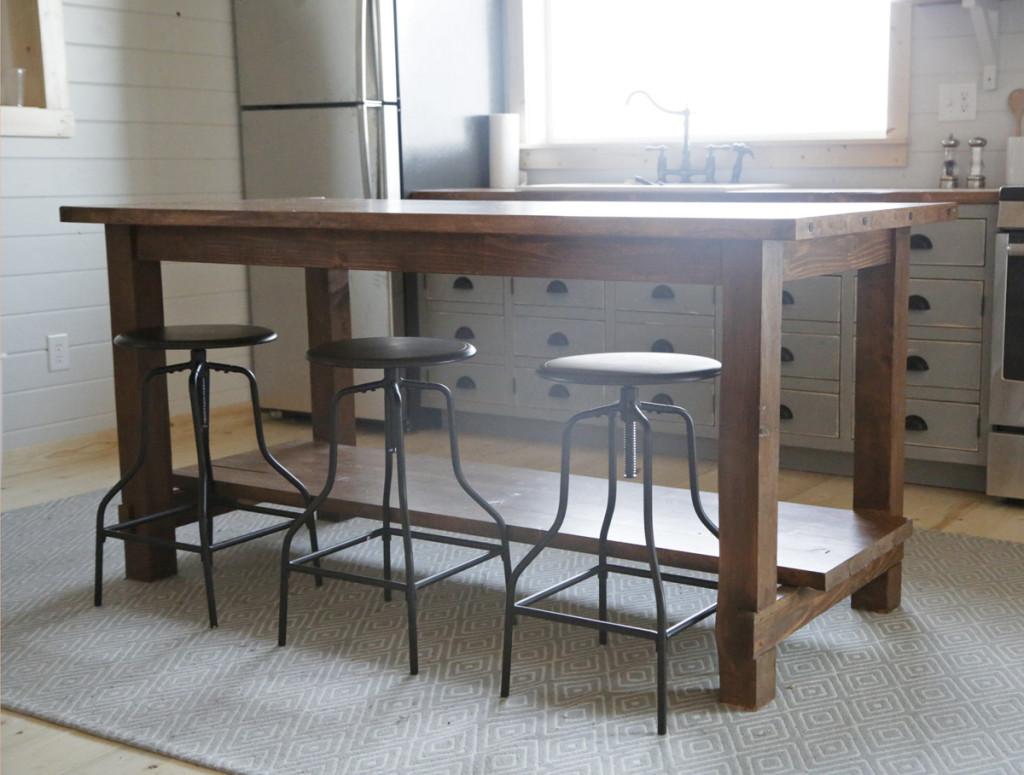 Ana White Cabin Kitchen Table