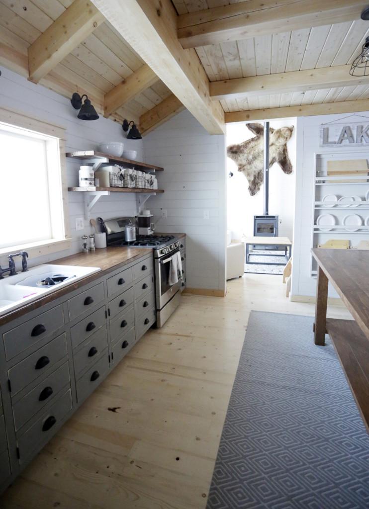 Ana White Cabin Kitchen