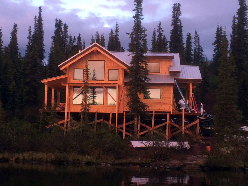 Alaska Cabin Wallpaper 38247 | IMGFLASH