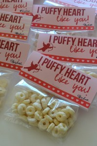 "I ""Puffy"" Heart Like You – Free Printable Baby Valentine"