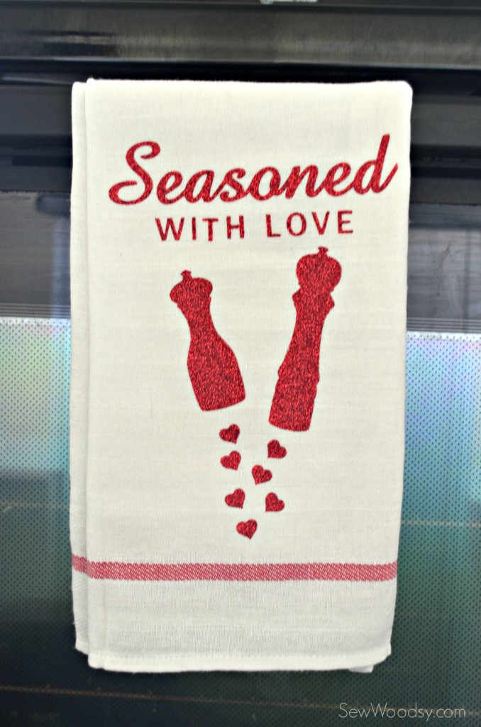 Seasoned with Love Tea Towel