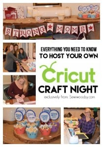 How to Host a Cricut Craft Night