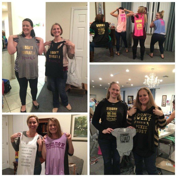 Mom's Night Out Cricut Craft Night