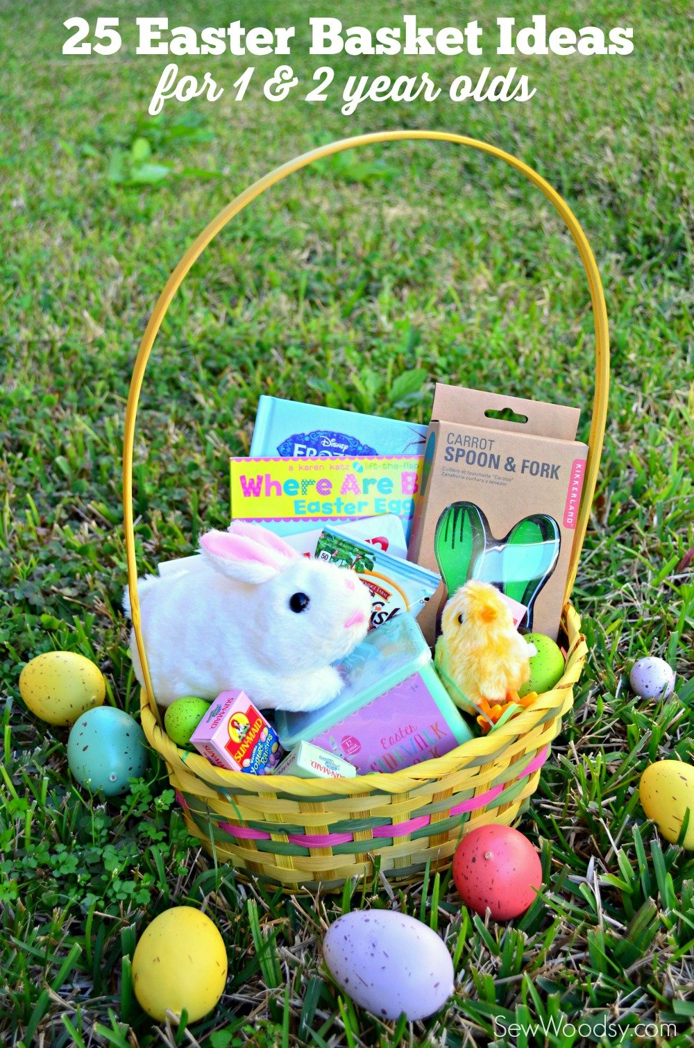 25 Easter Basket Ideas for 1 & 2 Year Olds