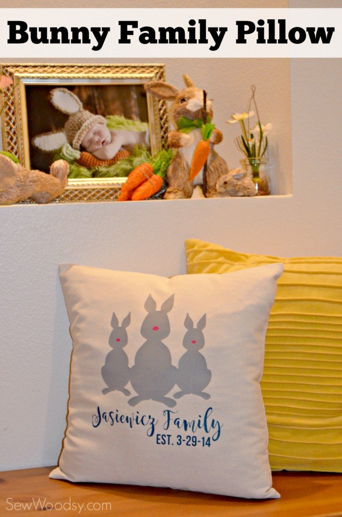 Bunny Family Pillow  Tutorial