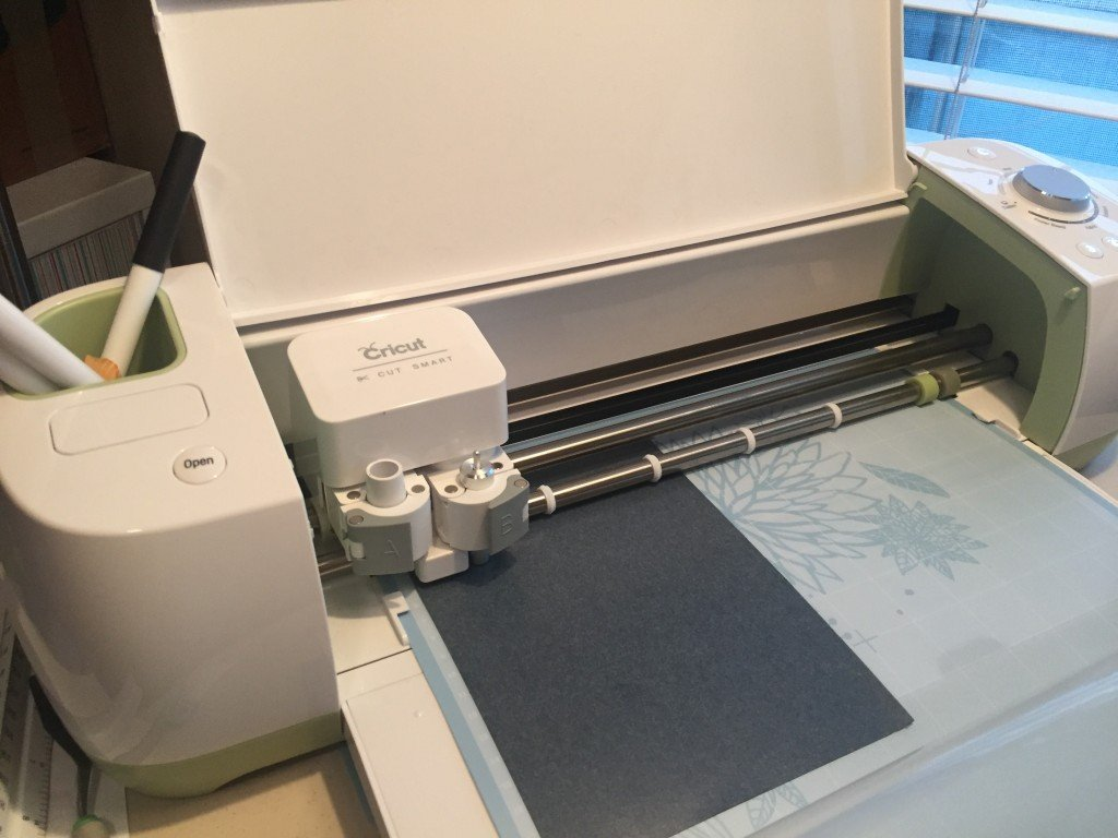 Cricut Explore cutting Flocked HTV