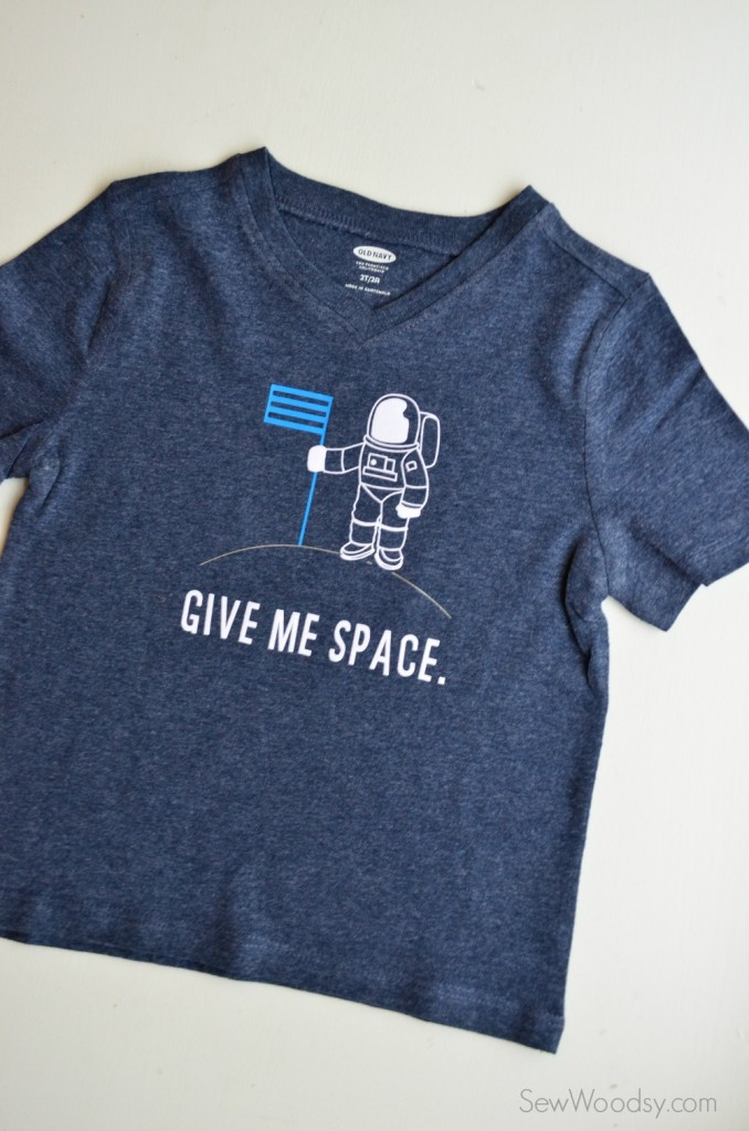 DIY Trendy T-Shirt - Give Me Space Shirt