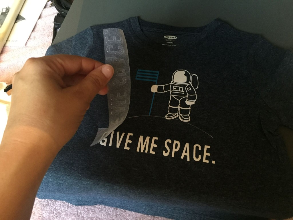 DIY Trendy T-Shirt - Give Me Space