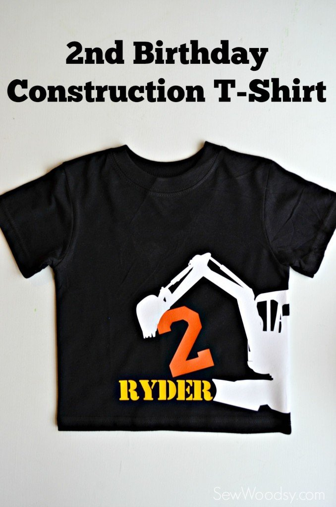 2nd Birthday Construction T-Shirt