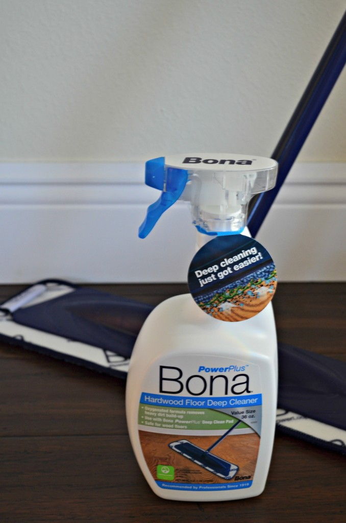 Hardwood Floor Cleaning with Bona® PowerPlus  #PowerPair #ad