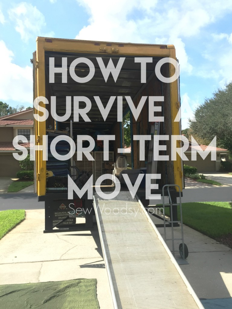 How To Survive A Short-Term Move