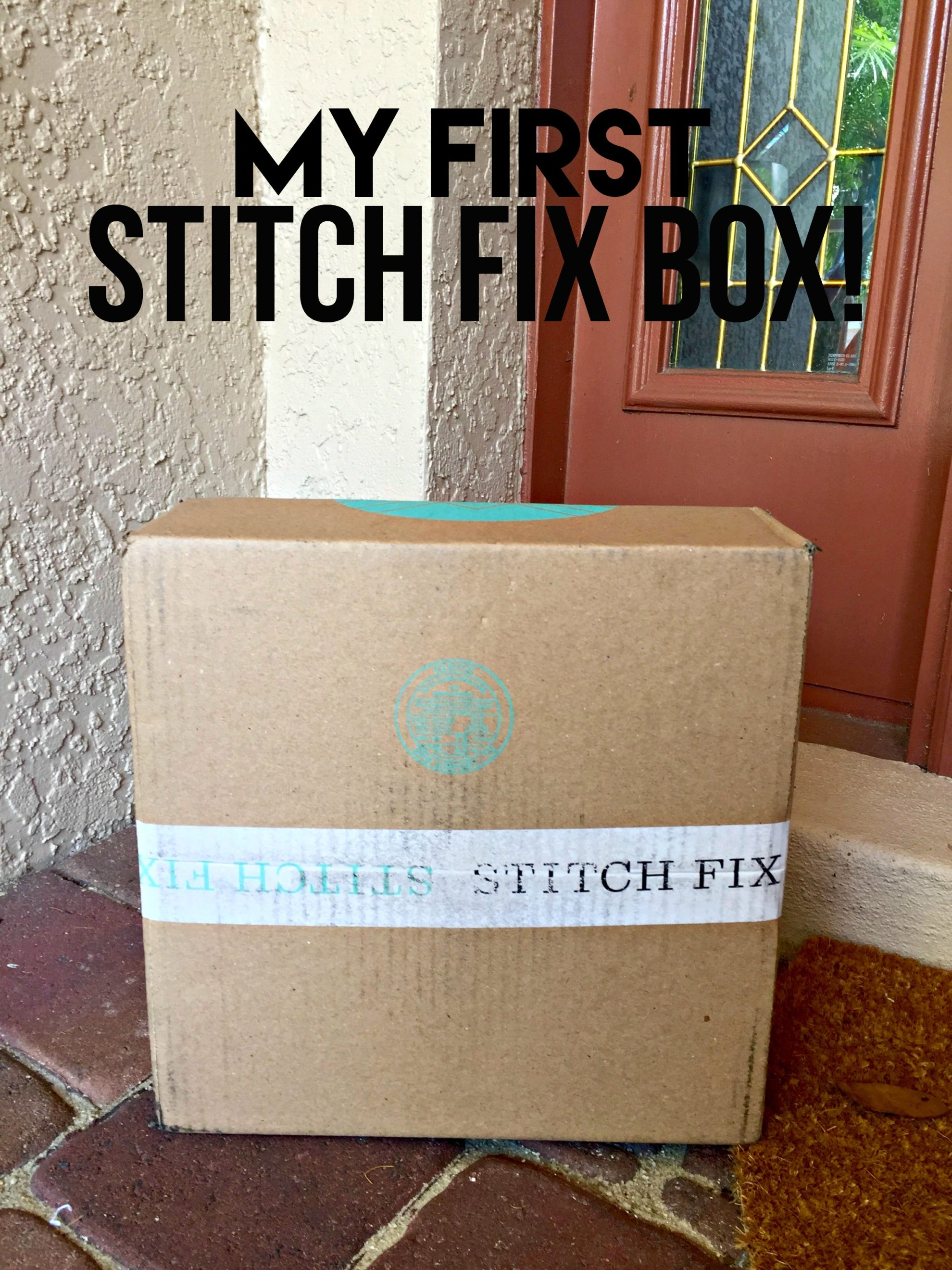 My First Stitch Fix Box!