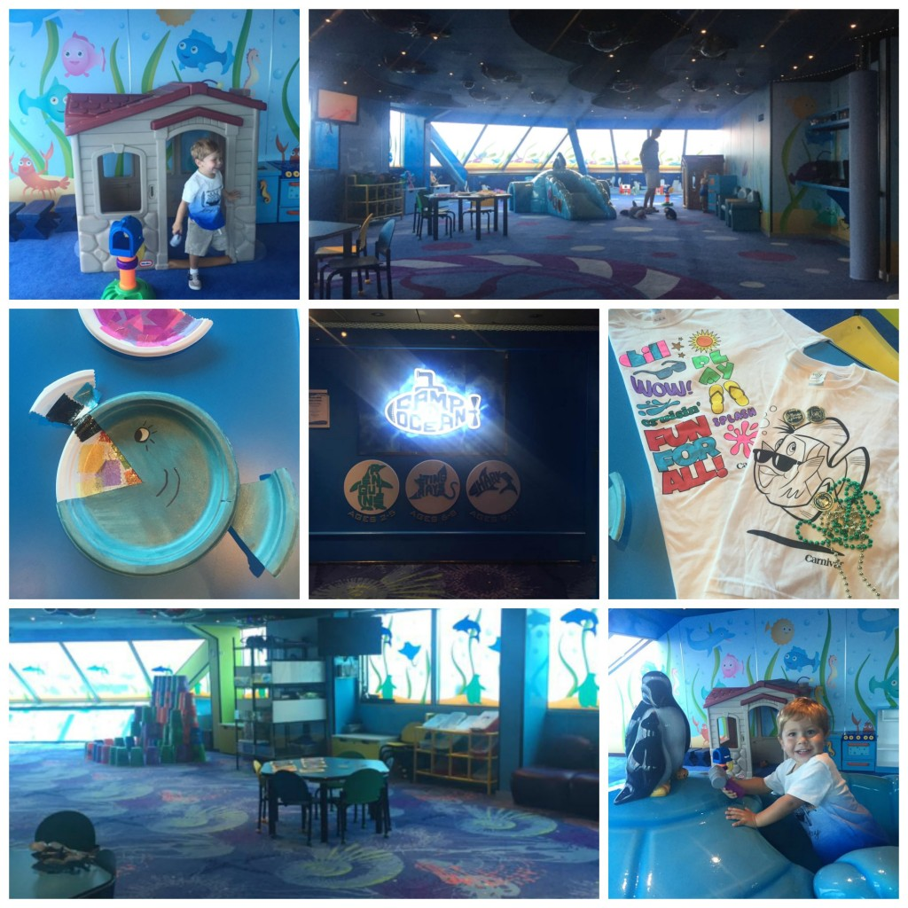 Camp Ocean on Carnival Cruise Lines