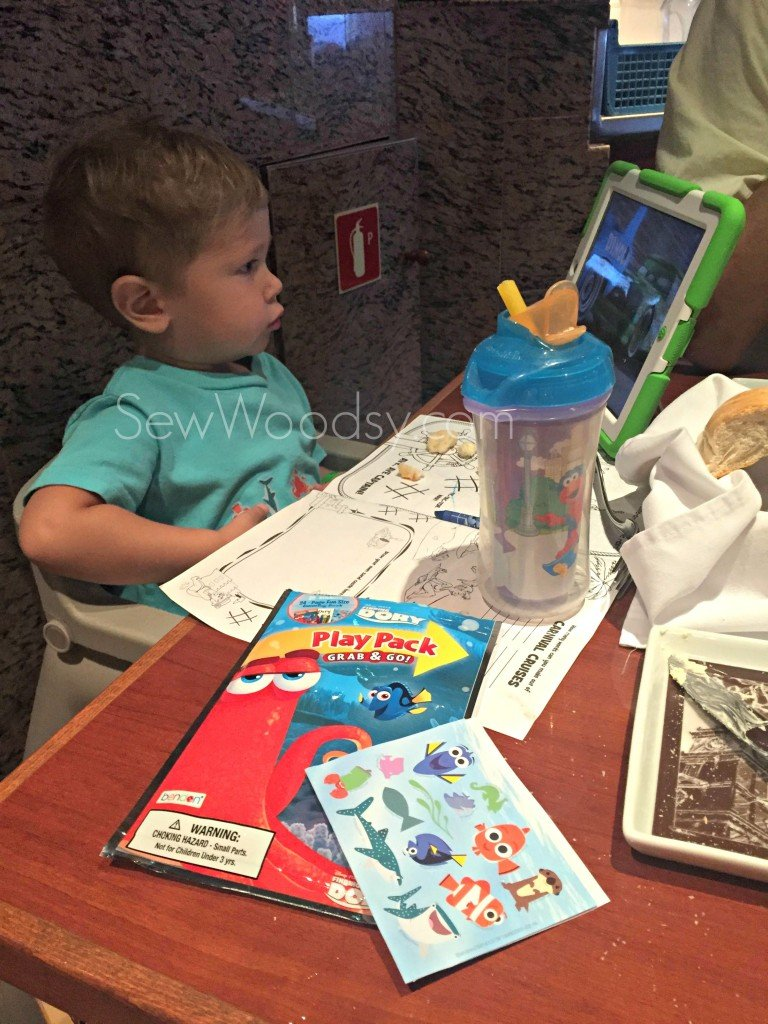 Formal Dining with a Toddler