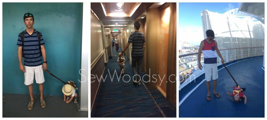 Toddler Leash on Cruise Ship