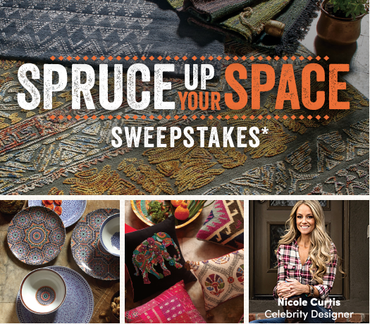 Spruce Up Your Space Sweepstakes with World Market