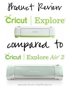 Product Review - Cricut Explore compared to Cricut Explore Air 2