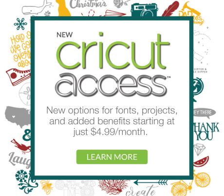 NEW Cricut Access Plans! - Sew Woodsy