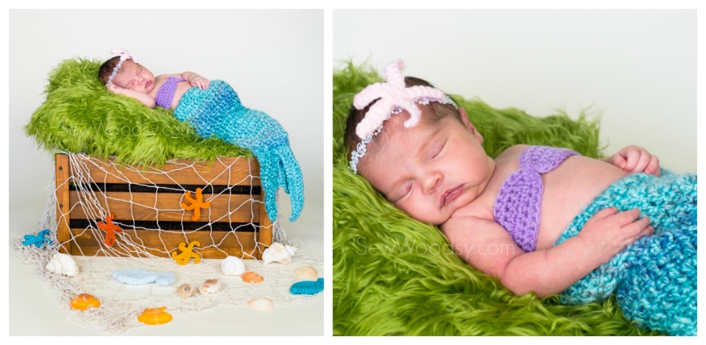 Mermaid Newborn Photography