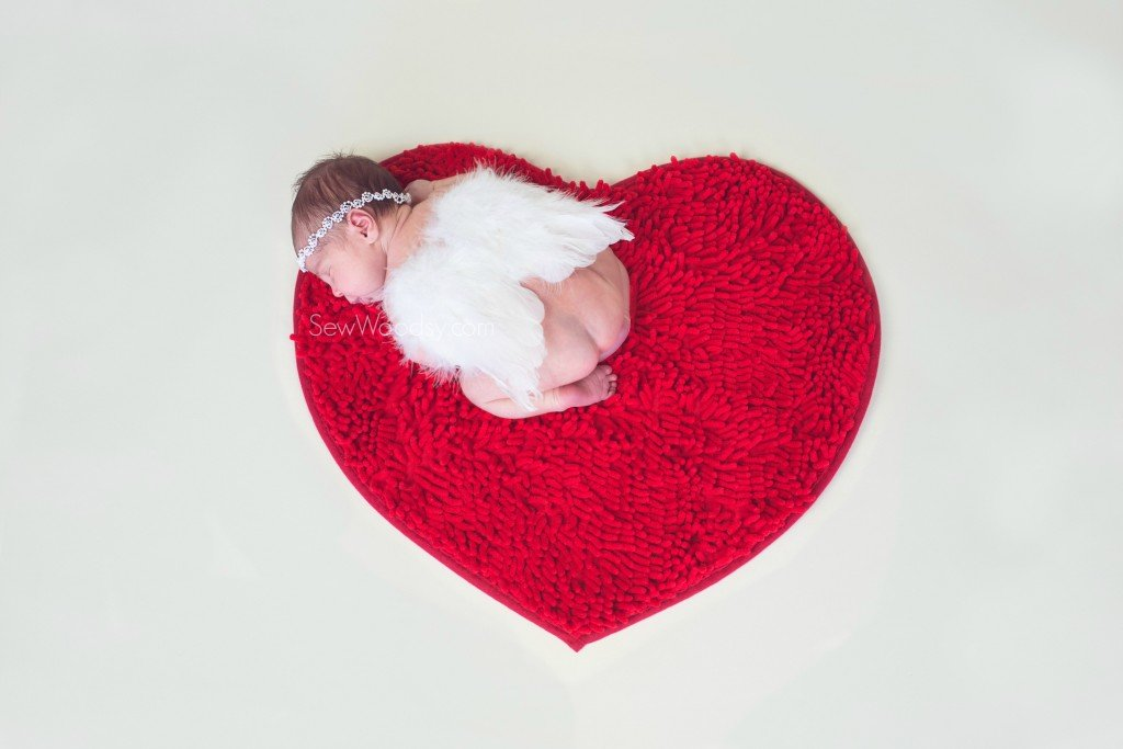 Valentine's Day Inspired Newborn Photography