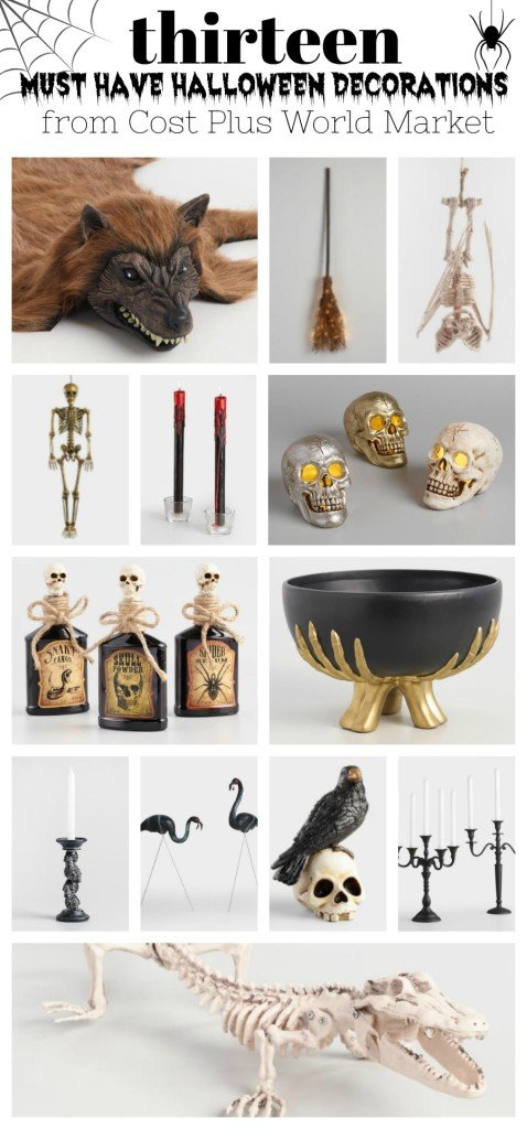 13 Must Have Halloween Decorations from Cost Plus World Market