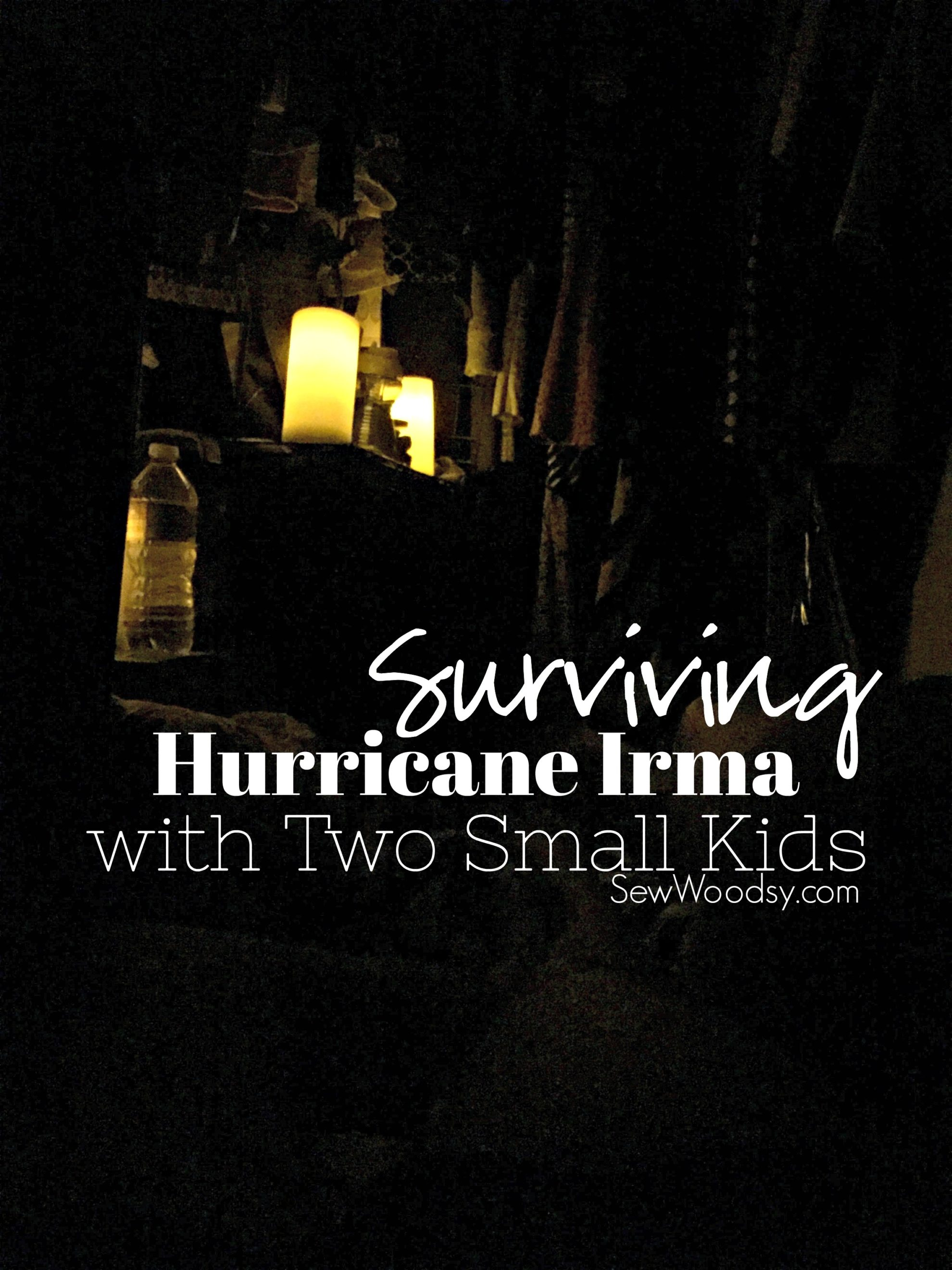 Surviving Hurricane Irma with Two Small Kids