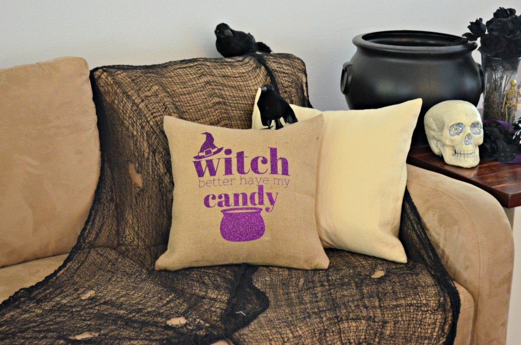 Witch Better Have My Candy Halloween Pillow