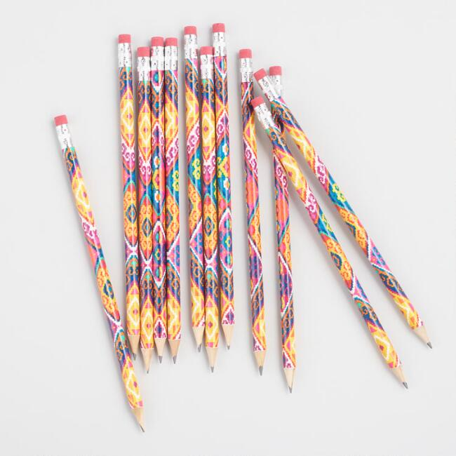 Boxed Llama Pencils Set Of 12