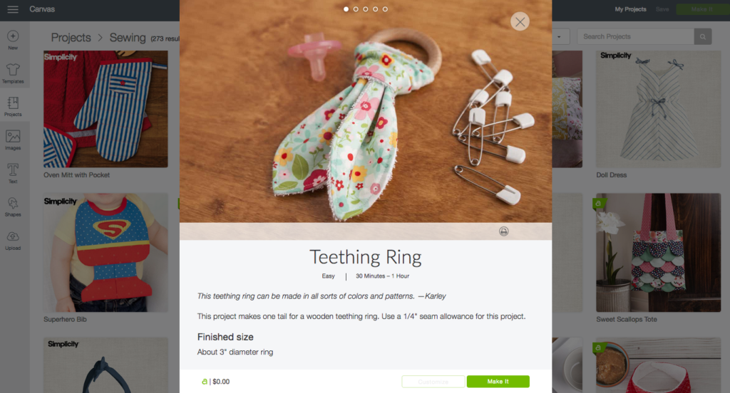 Teething Ring