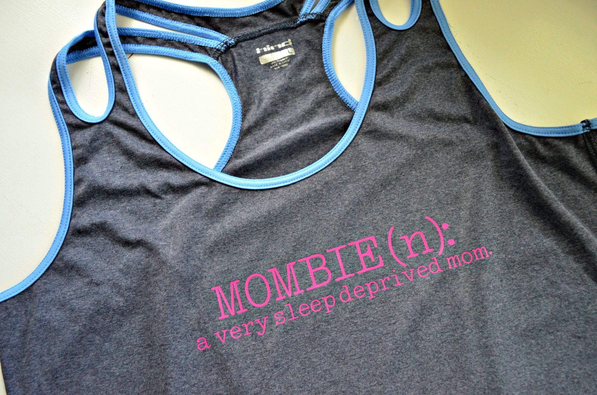 DIY Mombie Workout Tank Tops