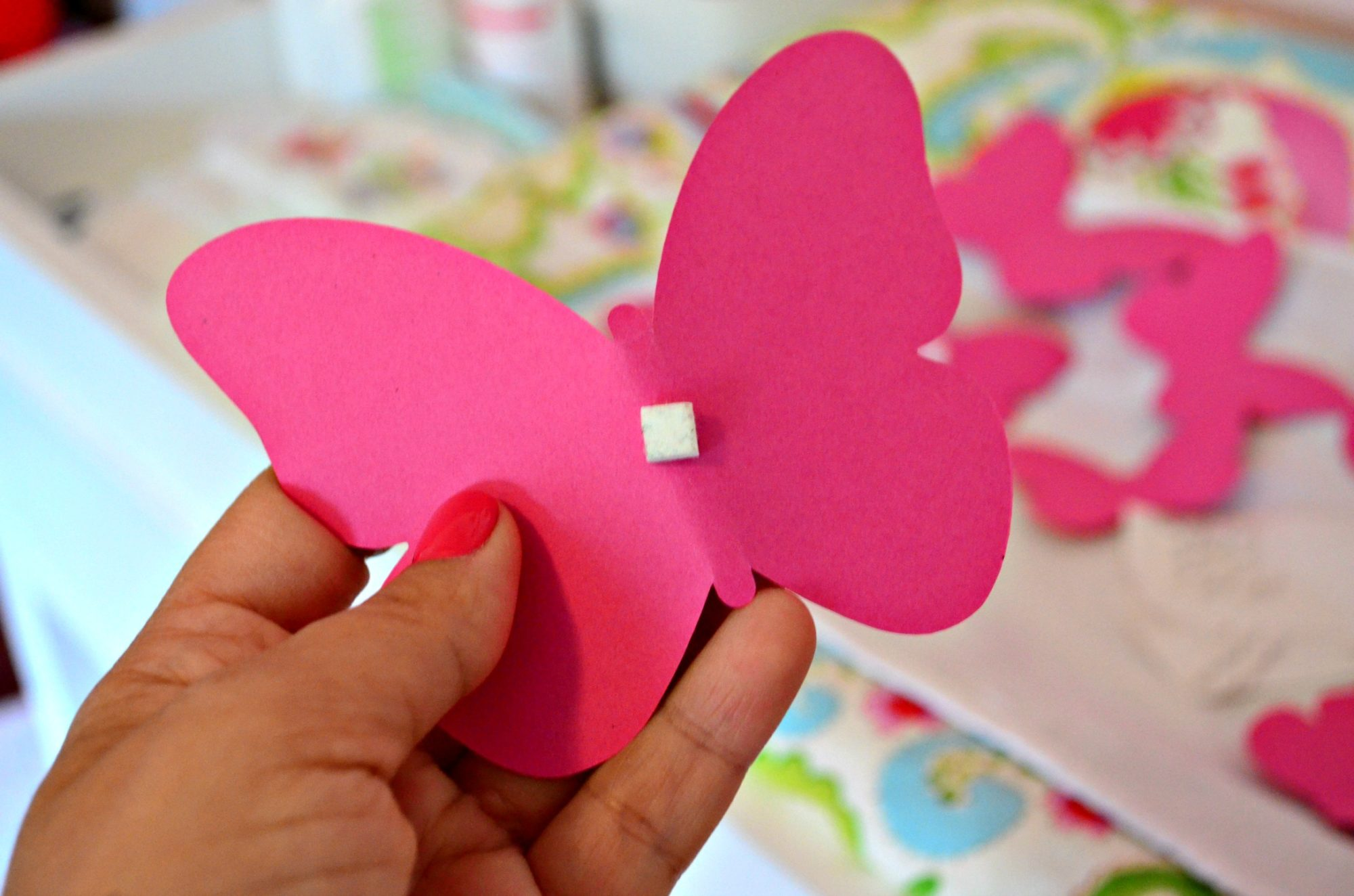 Create a Paper Butterfly Wall 1