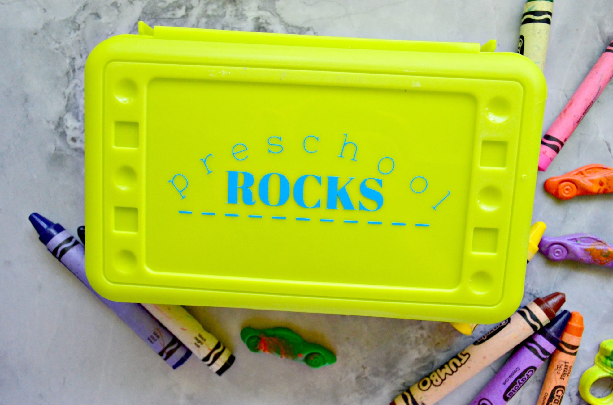 diy elementary school pencil box - sew woodsy